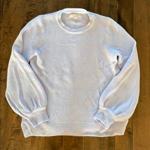 Loft light blue sweater